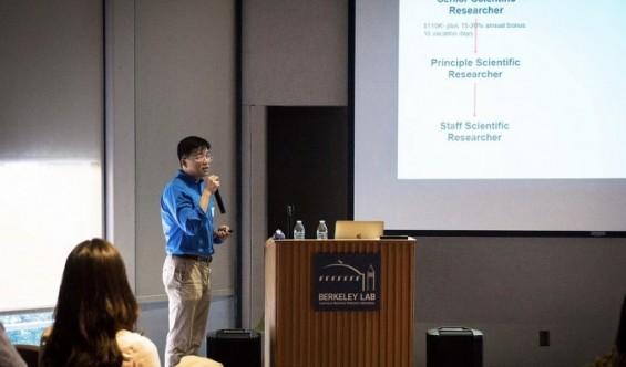 김빛내리 교수, 코로나바이러스 성장 단백질 연구 공개한다