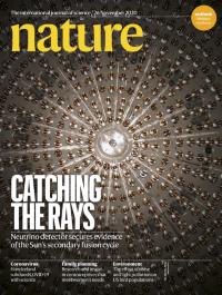 [표지로 읽는 과학] 태양 핵융합 '중성미자' 첫 검출