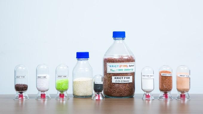 한국화학연구원 CCP 융합연구단 올레핀분리팀이 개발한 금속 유기 골격체(MOF). 남윤중 제공