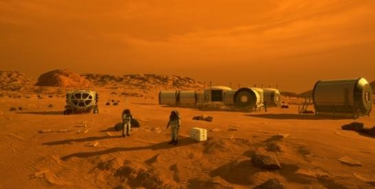 '붉은 행성' 화성 짠물서 수소 연료와 산소 직접 뽑아 쓴다