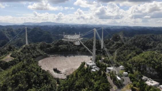 노벨물리학상·007시리즈 배출한 아레시보 전파망원경 세월 앞에 무너졌다