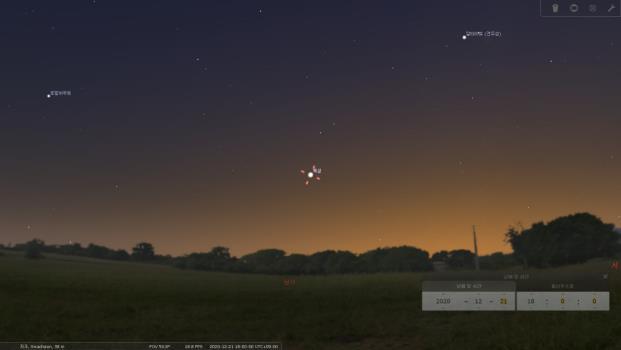 목성과 토성 대근접…397년만에 가장 가깝게 보여