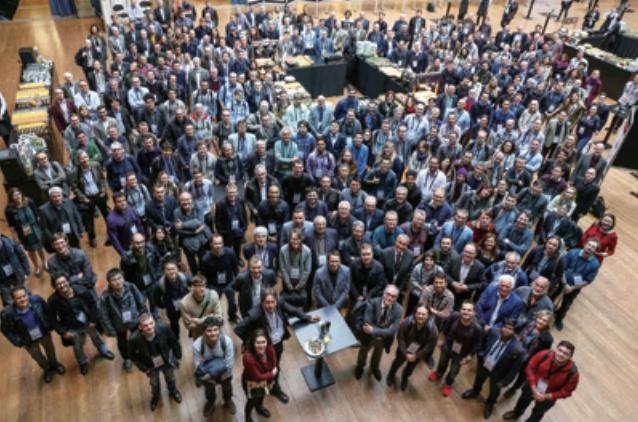 과학자들이 2018년 네덜란드 암스테르담에서 열린 'FCC 주간 2018'에 참석하고 있다 유럽입자물리연구소 제공