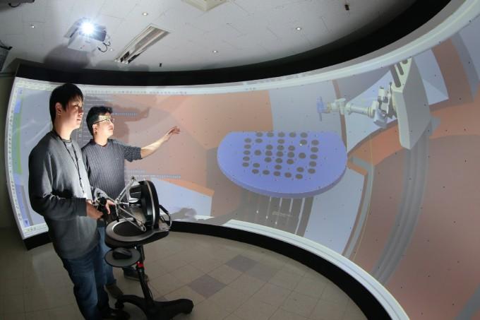한국원자력연구원은 원전 해체공정 통합평가 시스템 기술을 두산중공업에 이전하는 기술실시계약을 체결했다. 원자력연 제공