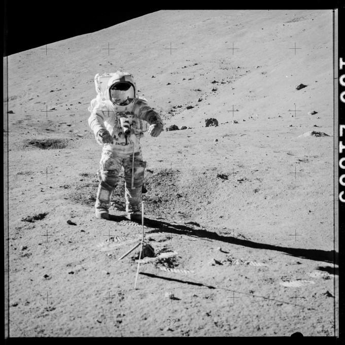 아폴로 17호 NASA 제공