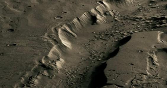 화성에 물이 흐를 수 있었던 비결은 지열?