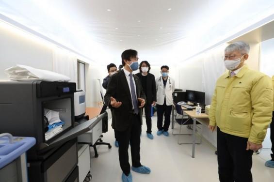 [과학게시판] 최기영 장관, 원자력의학원 방문 外