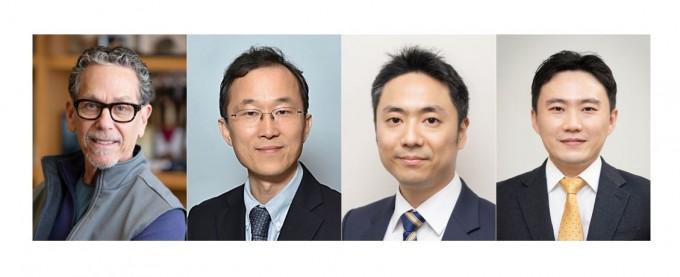 왼쪽부터 로날드 에반스 교수, 구본권 교수, 김진홍 교수, 유창훈 교수. 아산사회복지재단 제공