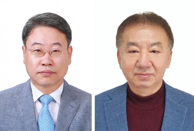 이석훈 한국기초과학지원연구원 책임연구원(왼쪽)과 신형선 책임연구원이 KBSI 분석과학 마이스터로 선정됐다. 한국기초과학지원연구원 제공