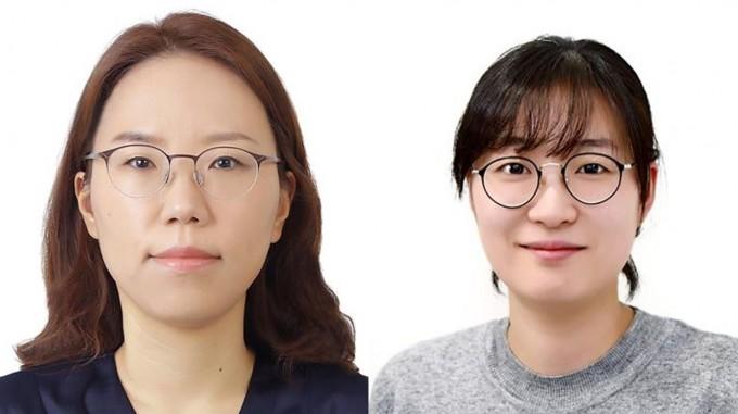왼쪽부터 이현정·임정아 책임연구원. KIST 제공