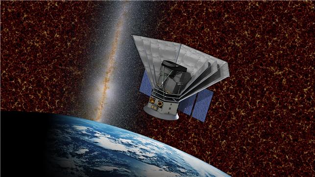 스피어x 우주망원경 개념. 과학기술정보통신부 제공