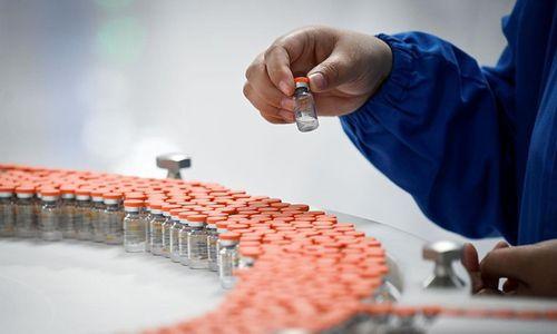 중국 코로나 백신 개발업체의 생산시설의 모습이다. 연합뉴스 제공