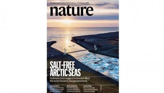 [표지로 읽는 과학]북극해는 한때 담수로 차 있었다