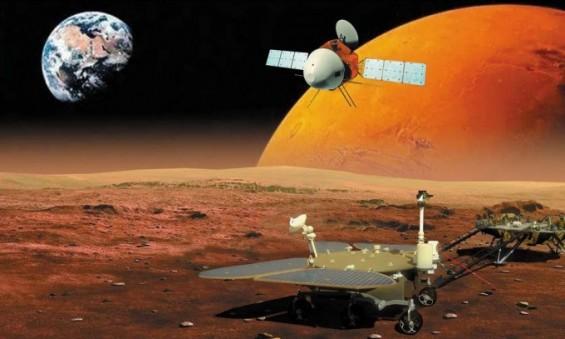 中 '톈원 1호' 화성 궤도 진입 성공…3개월 뒤 세 번째 화성 탐사국 타이틀 노린다