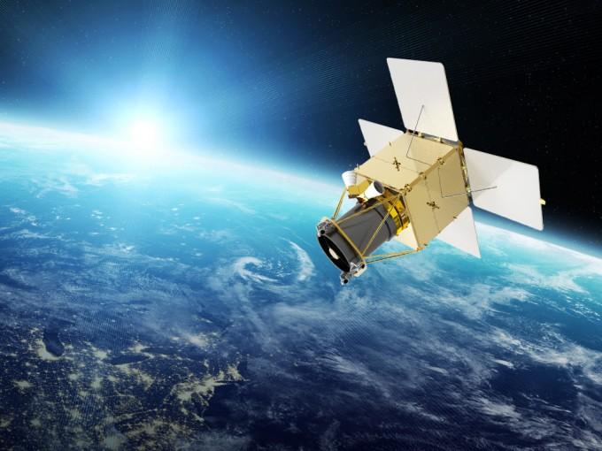 한국항공우주산업(KAI)이 개발을 주관하는 500kg급 차세대 중형위성 2호의 상상도다. KAI 제공