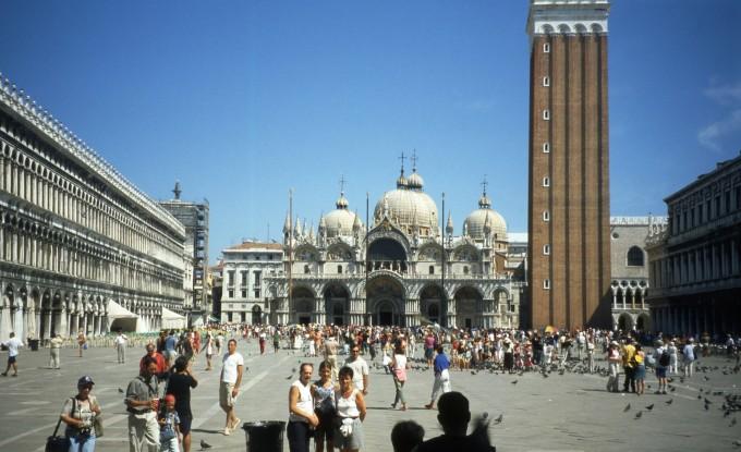 베네치아 산마르코 광장. 위키피디아(cc) 제공
