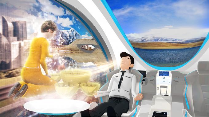 ETRI가 만든 기술발전지도 2035에서 제시하는 감성 능력 증강 기술의 미래 모습. ETRI 제공