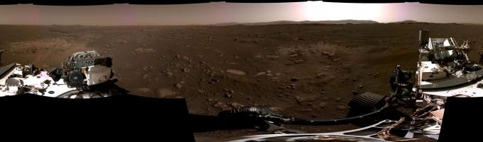 퍼시비어런스가 마스트캠을 활용해 촬영한 화성의 파노라마 사진이다. NASA 제공
