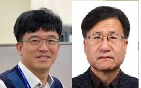 유상훈 한국조선해양 책임연구원(왼쪽)과 김태인 지오시스템리서치 부사장(오른쪽)이 대한민국 엔지니어상 2021년 2월 수상자로 선정됐다. 과학기술정보통신부 제공