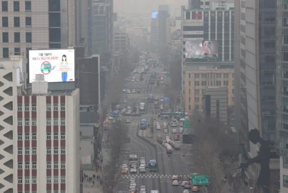 수도권 뒤덮은 미세먼지…중국발까지 겹쳐 15일까지 이어진다