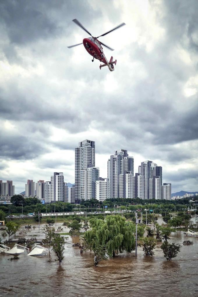 도시를 구하라.기상청 제공