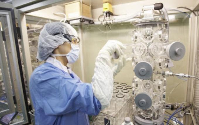 가습기 살균제 원인 물질의 흡입독성을 시험하는 장치 중 하나인 '노즈 온리 익스포저 챔버'. 동물이 물질을 코로만 흡입할 수 있게 한다. 안전성평가연구소 제공