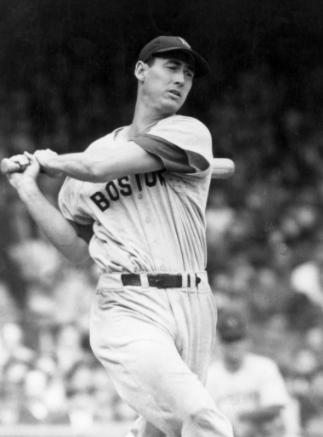 테드 윌리엄스(1918~2002)는 베이브 루스 이후 메이저리그 역대 최고 타자로 꼽히는 강타자다. 게티이미지/연합뉴스 제공