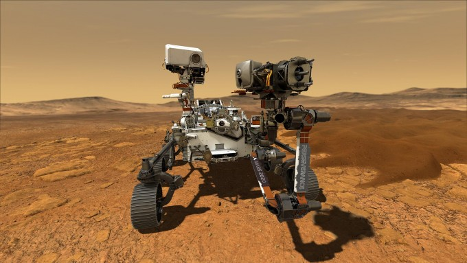 미국항공우주국(NASA)의 화성탐사선 퍼시비어런스가 . NASA 제공