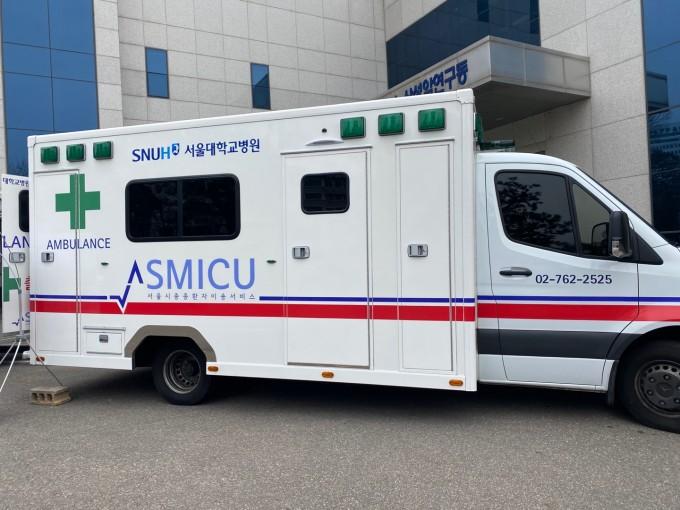 중증응급환자 공공이송서비스 구급차. 고재원 기자 jawon1212@donga.com