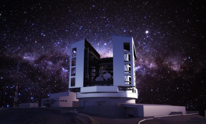 완성된 거대마젤란망원경(GMT) 개념도. 천문연 제공.