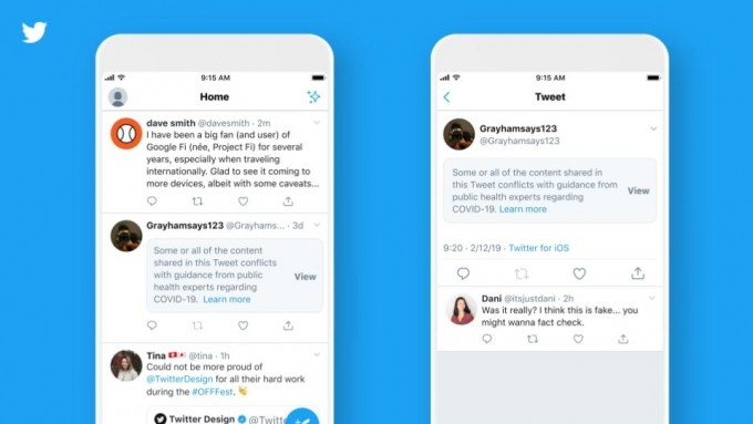 미국의 대표 소셜 네트워크 서비스(SNS)인 '트위터'가 신종 코로나바이러스 감염증(COVID-19·코로나19) 백신에 관한 허위정보 확산을 막기 위한 '스트라이크' 시스템을 도입한다고 이달 1일(현지 시간) 밝혔다. 트위터 블로그 제공