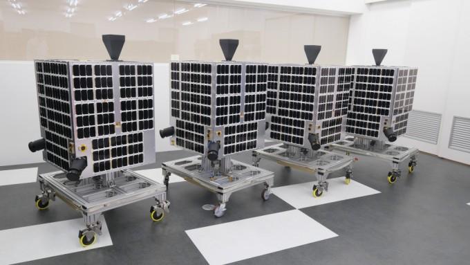 일본 우주개발기업 ′악셀스페이스′는 20일 카자흐스탄 바이코누르 우주센터에서 러시아 소유스 2.1a 발사체에 . 악셀스페이스 제공