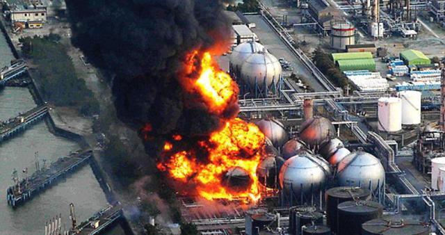 2011년 동일본 대지진 당시 폭발사고가 일어난 후쿠시마 제1원전. 연합뉴스 제공
