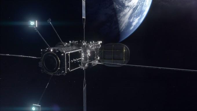 MEV-2와 인탤샛 위성의 도킹 상상도다. 노스럽 그러먼 제공