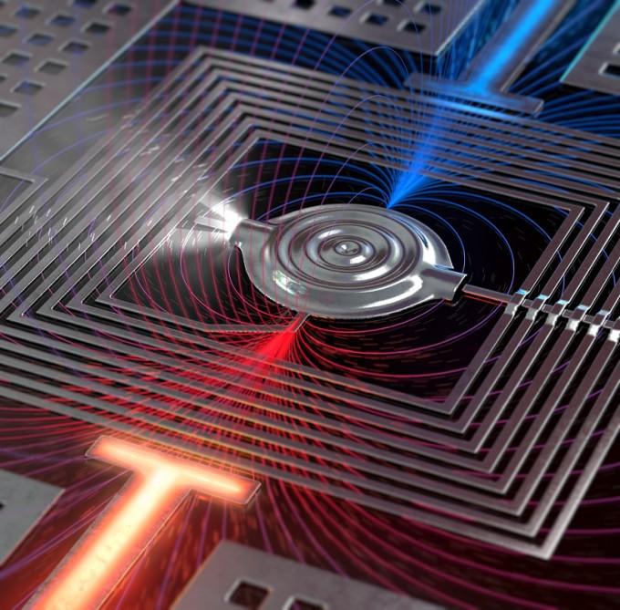 연구팀이 개발한 소자의 전자현미경 사진이다. 표준연 제공