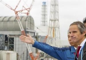 후쿠시마 제1원전을 시찰 중인 라파엘 그로시 IAEA 사무총장. 연합뉴스 제공