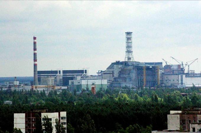 1986년 4월 26일 폭발사고가 발생했던 체르노빌 원전의 모습이다. 위키피디아 제공