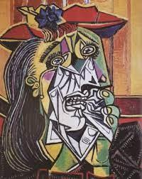 우는 여인(통곡하는 여인), 파블로 피카소 1937년작.