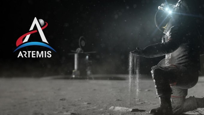 ′아르테미스′ 프로젝트 상상도. NASA 제공