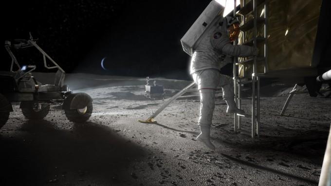 아르테미스 프로젝트 상상도. NASA 제공