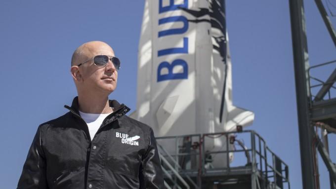 블루 오리진은 2000년 세계 최대 유통 기업인 아마존 창업자인 제프 베조스(53)가 창업한 우주개발 기업이다. 블루오리진 제공