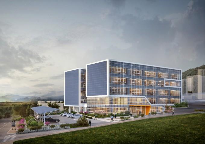 내년 3월 완공 예정인 한국전기연구원 스마트 이노베이션센터의 상상도. 한국전기연구원 제공