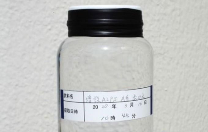 후쿠시마 제1 원전의 탱크에 저장된 방사능 오염수를 다핵종제거설비(ALPS)로 처리한 모습. 일본대사관 제공