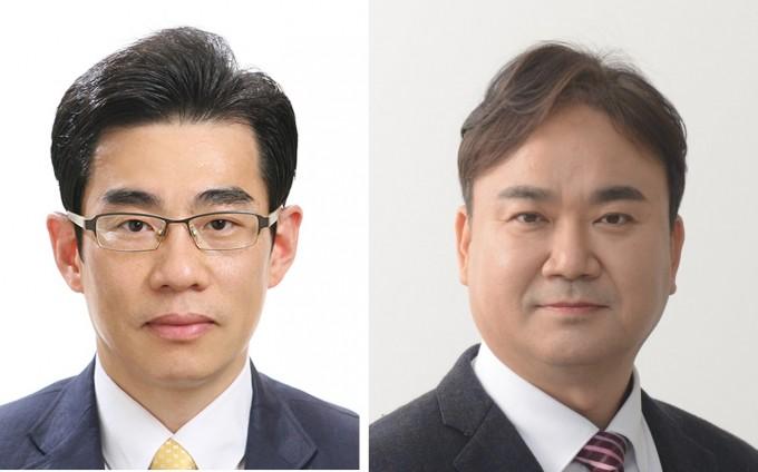 김영종 LG전자 연구위원(왼쪽)과 이은석 엘제이이앤에스 대표이사가 대한민국 엔지니어상을 수상했다. 과학기술정보통신부 제공