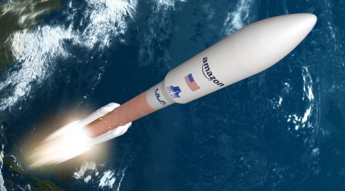 아마존이 카이퍼 프로젝트를 위한 로켓 공급자로 유나이티드론치얼라이언스를 선정했다. 아마존 제공