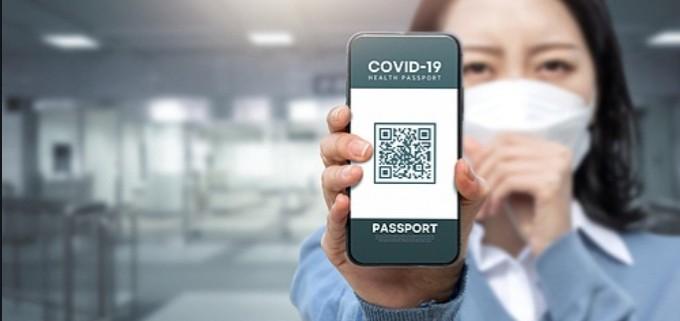 블록체인 기반의 백신 여권은 스마트폰 인증 애플리케이션(앱) 형태로 이달 중 공식 개통된다. 게티이미지뱅크 제공