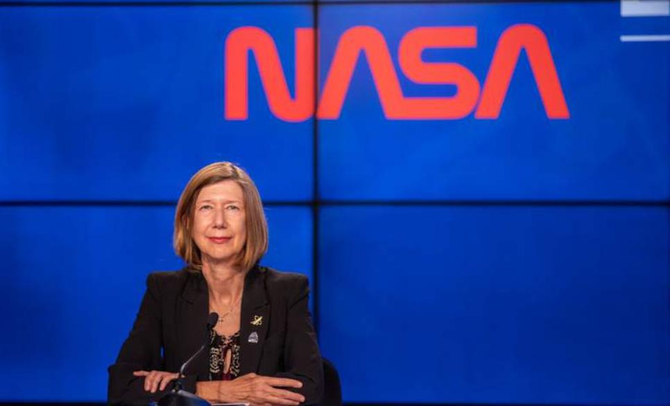 컨퍼런스콜을 진행한 캐시 루더스(Kathy Lueders) 유인 우주탐사 담당 부국장. NASA 제공