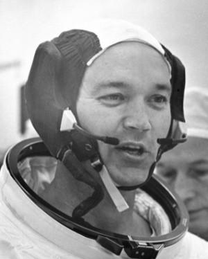 1969년 '아폴로 11호' 임무를 통해 인류 최초달 착륙이라는 업적을 남긴우주인 마이클 콜린스가 28일(현지시간) 별세했다.NASA 제공