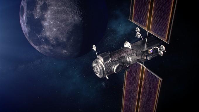아르테미스 계획은 2024년까지 달에 우주인을 보내고 2028년에는 달 탐사 전초기지인 루나 게이트웨이를 건설한다는 목표를 담고 있다. NASA 제공