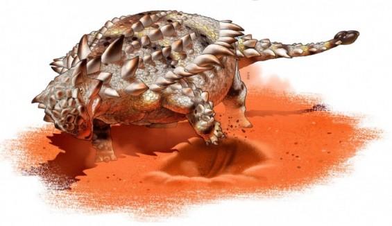 거대 갑옷공룡의 독특한 생존법 '땅파기'